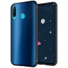"""Huawei P30 lite Dėklas """"Aurora""""  mėlynas"""