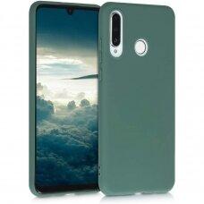 Huawei P30 lite dėklas Silicon žalias
