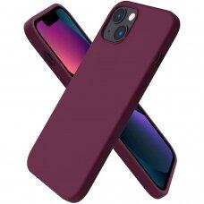 Iphone 13 dėklas Silicon Bordinis