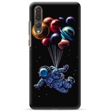 "Huawei P20 pro TPU dėklas unikaliu dizainu 1.0 mm ""u-case Airskin Cosmo design"""