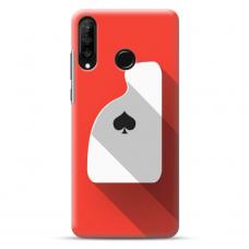 """Huawei P40 Lite E TPU dėklas unikaliu dizainu 1.0 mm """"u-case Airskin Ace design"""""""