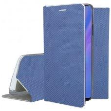 Huawei P30 pro atverčiamas dėklas Smart Fusion mėlynas