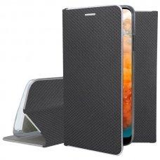 Huawei y6 2019 atverčiamas dėklas Smart Fusion juodas