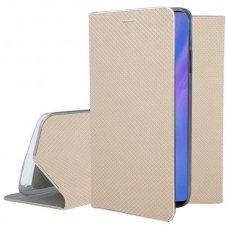 Huawei P30 pro atverčiamas dėklas Smart Fusion auksinis