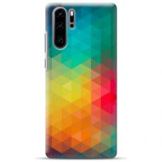 "Huawei P30 pro TPU DĖKLAS UNIKALIU DIZAINU 1.0 MM 1.0 mm ""u-case airskin Pattern 3 design"""