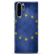 "Huawei P30 pro TPU DĖKLAS UNIKALIU DIZAINU 1.0 MM 1.0 mm ""u-case airskin EU design"""