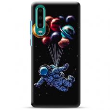 "Huawei P30 TPU dėklas unikaliu dizainu 1.0 mm ""u-case Airskin Cosmo design"""