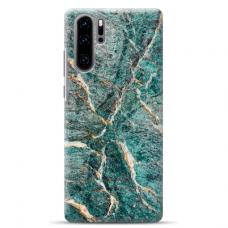 "Huawei P30 pro TPU dėklas unikaliu dizainu 1.0 mm ""u-case airskin Marble 1 design"""