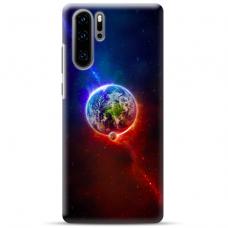 "Huawei P30 pro TPU dėklas unikaliu dizainu 1.0 mm ""u-case Airskin Nature 4 design"""