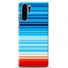 "Huawei P30 pro TPU dėklas unikaliu dizainu 1.0 mm ""u-case airskin Pattern 2 design"""