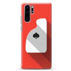 "Huawei P30 pro TPU dėklas unikaliu dizainu 1.0 mm ""u-case airskin Ace design"""