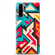 "Huawei P30 pro TPU dėklas unikaliu dizainu 1.0 mm ""u-case Airskin Pattern 7 design"""