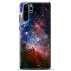 "Huawei P30 pro TPU dėklas unikaliu dizainu 1.0 mm ""u-case Airskin Space 2 design"""
