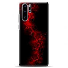 "Huawei P30 pro TPU dėklas unikaliu dizainu 1.0 mm ""u-case Airskin Space 3 design"""