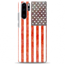 "Huawei P30 pro TPU dėklas unikaliu dizainu 1.0 mm ""u-case Airskin USA design"""