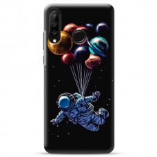 "Huawei P30 lite TPU dėklas unikaliu dizainu 1.0 mm ""u-case Airskin Cosmo design"""
