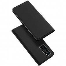 Akcija! Huawei P40 atverčiamas į šoną dėklas DUX DUCIS SKIN PRO juodas
