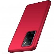 Huawei p40 Dėklas REMAX matinis, raudonas
