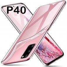 Akcija! Huawei p40 Dėklas REMAX PROTECTIVE skaidrus