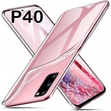 Huawei p40 Dėklas REMAX PROTECTIVE skaidrus