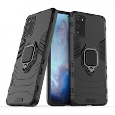 samsung galaxy s20 dėklas Ring Armor PC juodas