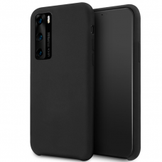 Huawei p40 dėklas Vennus silicone lite juodas
