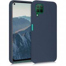 Samsung Galaxy A12 dėklas Vennus silicone lite tamsiai mėlynas