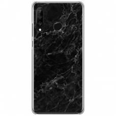 "Huawei P40 Lite E TPU dėklas unikaliu dizainu 1.0 mm ""u-case Airskin Marble 4 design"""