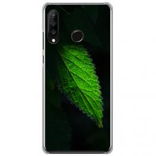 """Huawei P40 Lite E TPU dėklas unikaliu dizainu 1.0 mm """"u-case Airskin Nature 1 design"""""""