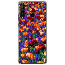 """Huawei P40 Lite E TPU dėklas unikaliu dizainu 1.0 mm """"u-case Airskin Nature 2 design"""""""