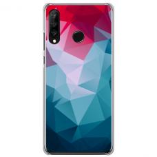 """Huawei P40 Lite E TPU dėklas unikaliu dizainu 1.0 mm """"u-case Airskin Pattern 8 design"""""""