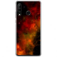 """Huawei P40 Lite E TPU dėklas unikaliu dizainu 1.0 mm """"u-case Airskin Space 1 design"""""""