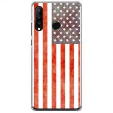 "Huawei P40 Lite E TPU dėklas unikaliu dizainu 1.0 mm ""u-case Airskin USA design"""