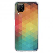 """Huawei P40 Lite TPU DĖKLAS UNIKALIU DIZAINU 1.0 MM 1.0 mm """"u-case airskin Pattern 3 design"""""""