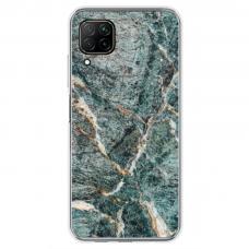 "Huawei P40 Lite TPU dėklas unikaliu dizainu 1.0 mm ""u-case airskin Marble 1 design"""