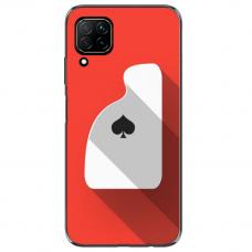 """Huawei P40 Lite TPU dėklas unikaliu dizainu 1.0 mm """"u-case Airskin Ace design"""""""