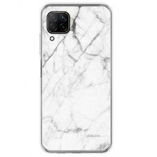 "Huawei P40 Lite TPU dėklas unikaliu dizainu 1.0 mm ""u-case Airskin Marble 6 design"""