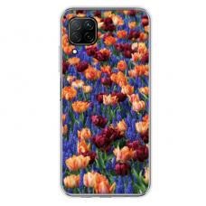 """Huawei P40 Lite TPU dėklas unikaliu dizainu 1.0 mm """"u-case Airskin Nature 2 design"""""""