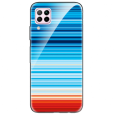 """Huawei P40 Lite TPU dėklas unikaliu dizainu 1.0 mm """"u-case airskin Pattern 2 design"""""""