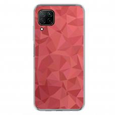 """Huawei P40 Lite TPU dėklas unikaliu dizainu 1.0 mm """"u-case Airskin Pattern 6 design"""""""