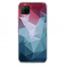 """Huawei P40 Lite TPU dėklas unikaliu dizainu 1.0 mm """"u-case Airskin Pattern 8 design"""""""