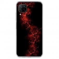 """Huawei P40 Lite TPU dėklas unikaliu dizainu 1.0 mm """"u-case Airskin Space 3 design"""""""
