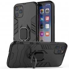 iphone 12 pro max dėklas Ring Armor PC juodas