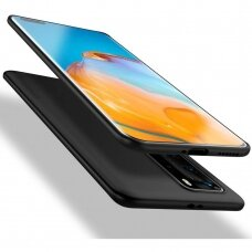 Huawei P40 pro DĖKLAS X-LEVEL GUARDIAN SILIKONINIS 0,6MM juodas