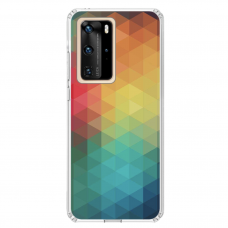 "Huawei P40 Pro TPU DĖKLAS UNIKALIU DIZAINU 1.0 MM 1.0 mm ""u-case airskin Pattern 3 design"""