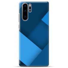 "Huawei P30 Pro TPU dėklas unikaliu dizainu 1.0 mm ""u-case Airskin Blue design"""