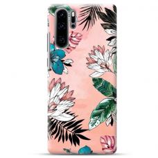 "Huawei P30 Pro TPU dėklas unikaliu dizainu 1.0 mm ""u-case Airskin Flowers 1 design"""