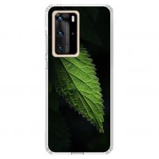 "Huawei P40 Pro TPU dėklas unikaliu dizainu 1.0 mm ""u-case Airskin Nature 1 design"""