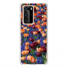 "Huawei P40 Pro TPU dėklas unikaliu dizainu 1.0 mm ""u-case Airskin Nature 2 design"""