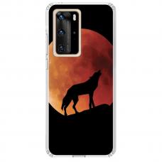 "Huawei P40 Pro TPU dėklas unikaliu dizainu 1.0 mm ""u-case Airskin Nature 3 design"""